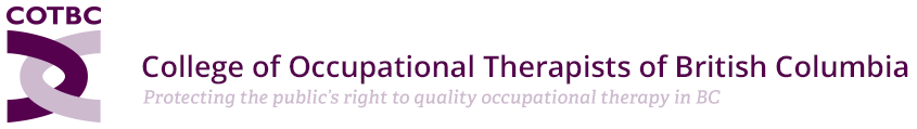 College of Occupational Therapists of British Columbia Logo