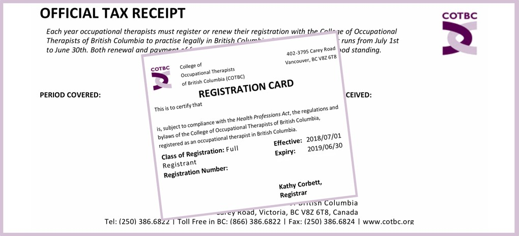 College of Occupational Therapists of British Columbia